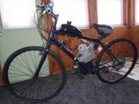 New Motorized bicycles for sale. Different models to