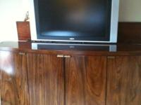 Motorized Console TV cabinet 32 inch philips flat