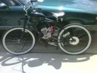"26"" Beach Cruiser with Skyhawk GT5 66cc gas engine. New"