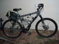 Mens Mongoose mountain bike with 70CC new engine: 150