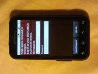 Description Motorola Defy for Tmobile. Waterproof cell