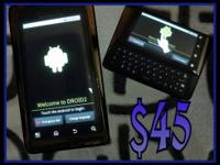 Motorola Droid 2 Display: 3.7-in? FWVGA (480 x 854)