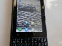 Here is one of our phones - a Motorola Droid Pro