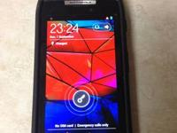I have a black Motorola Droid Razr 16GB in Excellent
