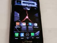 Here is one of our phones - a Motorola Droid RAZR 4G