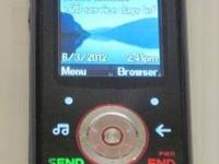 Almost New Motorola EM326g - Black (Net10) Cellular