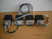 4 each data radios for SCADA 151.6250 freq. 5 watt