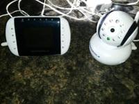 Motorola video baby monitor. 1 year old - paid $180 new