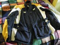 Never used BMW black & yellow Motorrad motorcycle