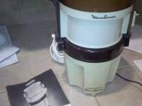 "This is the Moulinex La Machine ""Dough Works"". It is"