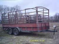 1980 Bumper take 16' trailer with stock racks. If so