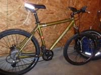 North Frace Pumori Mountain Bike, made by Iron Horse
