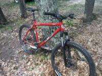 ON ONE mtn bike- shimano dic brakes-shimano alivo