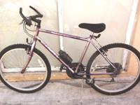 "MOUNTAIN BIKE, 26"", HUFFY SLEDGE HAMMER, 21 speeds, in"