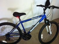 I have this mountain bike it has front shocks, and is