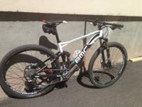 2013 BMC FS02 29r. Medium size frame. Full XT