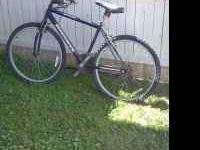 This is a mountain bike excellent condition gear shift