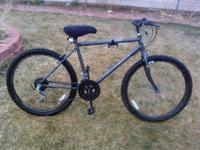 I am selling my mountain bike, it is in really good