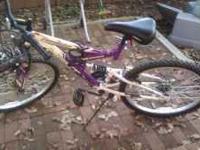 Hello, I'm selling my mountain bike as I'm moving out,