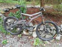 Marin Mountain Bike...serious bike for serious