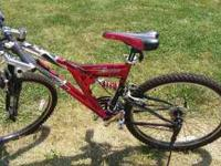 mountain bike asking $25 call  no emails or texts