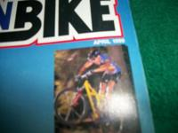 Mountain bicycle Action April 1999, We Pick the very