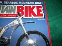 Mountain Bike Action,JUNE 2004,Honda gearbox bike,Mid