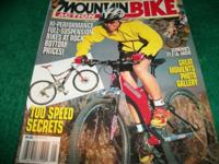 Mountain Bike Action,May 2000,Smiling blond woman on