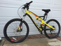 "27 Speed 19"" MOUNTAIN BIKE:SPECIALIZED Camber Comp FSR."