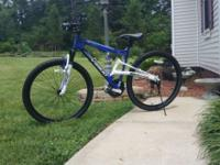Brand new, top of the line, Genesis mountain bike. I