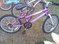 "Girls Pacific Mountain Bike for sale 20"" wheels, 6"