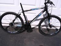 Beautiful Diamond Back Sorento 18 speed mountain bike.