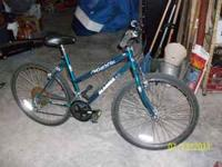 DARK GREEN MOUNTAIN BIKE 18 SPEED MAJESTIC MAGNA 26""