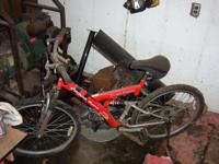 21 speed mountain bike for sale, front and rear