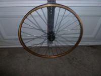 "26"" Mountain Bike Wheel, Disc and V-Brake compatable."