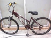 MOUNTAIN BIKE, LADY, SCHWINN SIDEWINDER 2.6, 21 speed,
