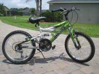 This is a kids mountain bike its in great shape and has