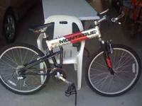 I have a used Montague MX 24 speed mountain bike . It's