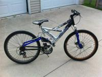 Selling my mongoose mountain bike.  Bought the bike