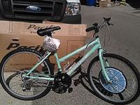 PACIFIC SHIRE Woman's Mountain Racer Bike 15 speed #