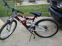 Three Bikes for sale two mountain bikes pictured and on