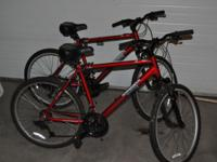 I have two Diamondback 18 speed mountain bikes. They've