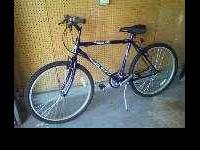 mountain bike almost new used it ones is 21speed sits