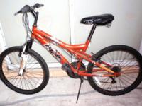 "MOUNTAIN BIKE, 24"" Front suspension, ""PACIFIC"