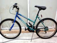 "MOUNTAIN BIKE, 24"", MAGNA DOUBLE DIVIDE, 15 speed, in"