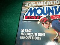Mountain Bike Action, APRIL 2004,testing the gary