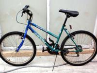"MOUNTAIN BIKE, LADY, 24"", MAGNA DOUBLE DIVIDE, 15"