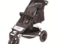 The Mountain Buggy + One stroller is a new inline