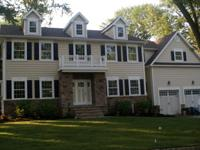 Newly Constructed Federal Style Colonial Home Formal