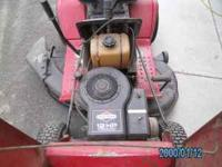 "Late 70's to mid 80's Montgomery Ward 12hp 42"" cut lawn"